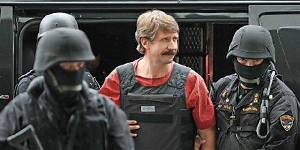 Waffenhändler Bout an die USA ausgeliefert