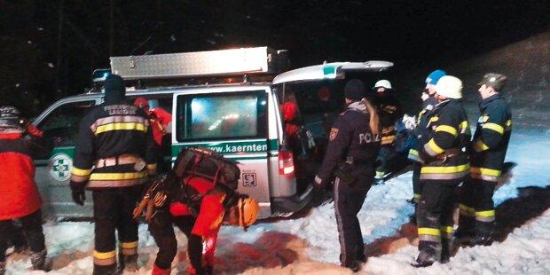 Villacher überlebte Nacht im Freien bei –12 Grad