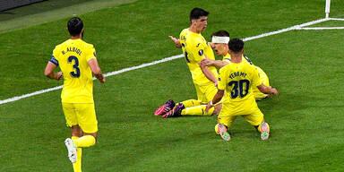 Villarreal im Jubelrausch beim Finale der Europa League