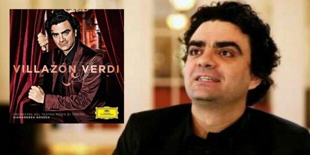 Villazón schenkt Fans Verdi-Album