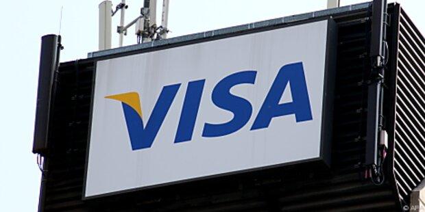 Auch Visa stellt Zahlungen ein