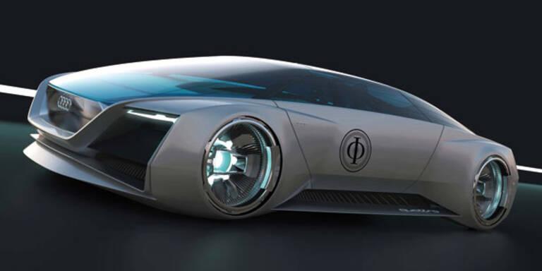 Audi entwickelte Science-Fiction-Auto