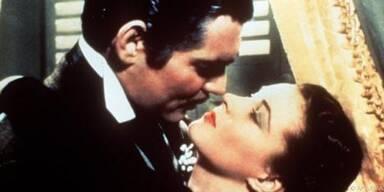 Vivien Leigh und Clark Gable