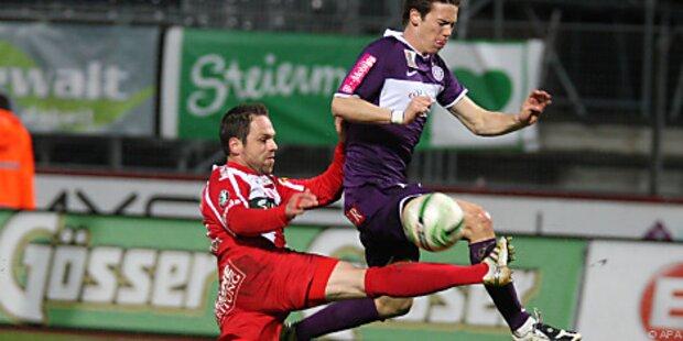 Ried hat gegen Kapfenberg Cup-Halbfinale im Visier