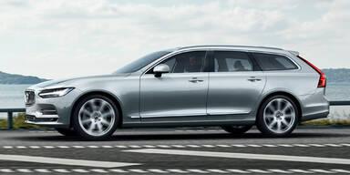 Volvo schickt den neuen V90 ins Rennen