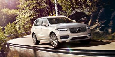 Weltpremiere des neuen Volvo XC90