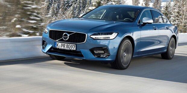 Neuer Einstiegsdiesel für Volvo V90 und S90