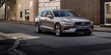 Neuer Turbobenziner für den Volvo V60