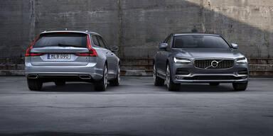 Volvo würzt den V90 und den S90 nach