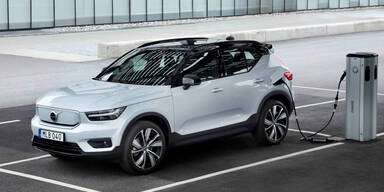 Volvo bringt den Elektro-XC40 mit Frontantrieb