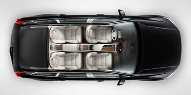 XC90 Excellence macht auf Rolls Royce
