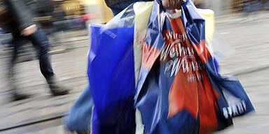 Vor allem zu Weihnachten boomte der Einzelhandel