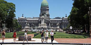 Vorbild US-Kongress: Parlament in Buenos Aires