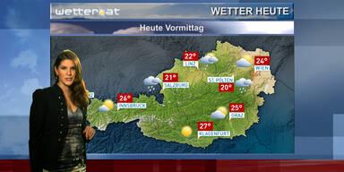 Das Wetter am Vormittag