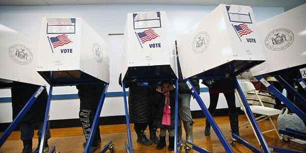 So lief der US-Wahltag