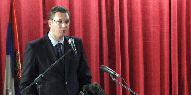 Serbien erfüllt Voraussetzungen für Beitrittsgespräche