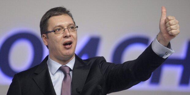 Mordrohung gegen Serben-Premier