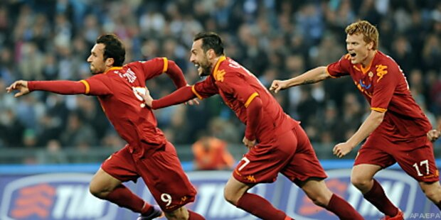 AS Roma nach Derby-Erfolg weiter an Serie-A-Spitze