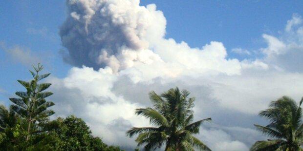 Vulkanausbruch: 5 Tote, Wienerin verletzt