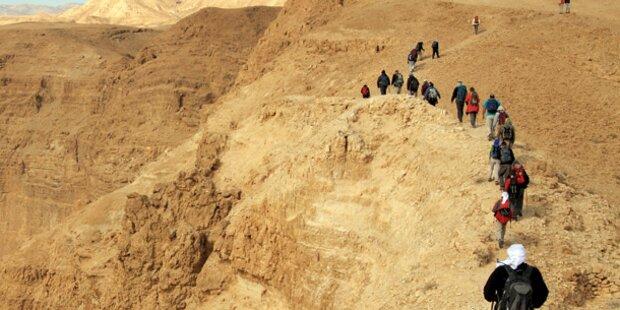 Touristen verirrten sich in Wüste
