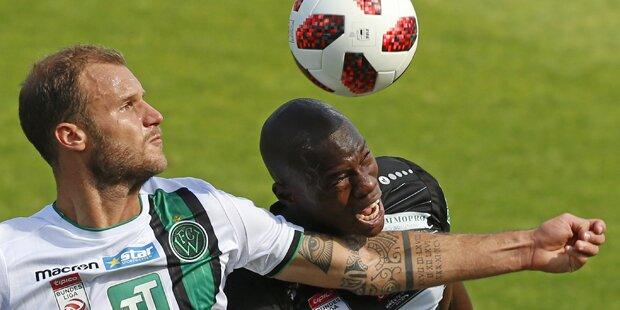 WAC dreht Spiel gegen Innsbruck