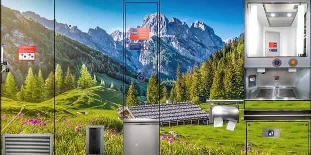 So schön werden die Zug-Toiletten der ÖBB
