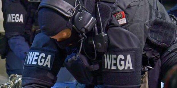Mit Waffe hantiert: WEGA-Einsatz vor Wiener Hotel