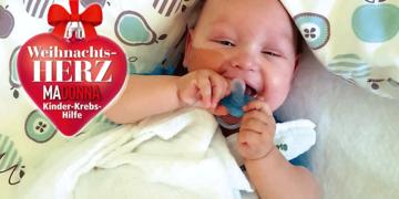 Aktion Weihnachtsherz: So kämpft der kleine Liam gegen den Krebs