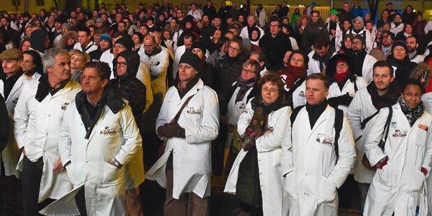1.000 Ärzte zu Groß-Demo in Wien erwartet