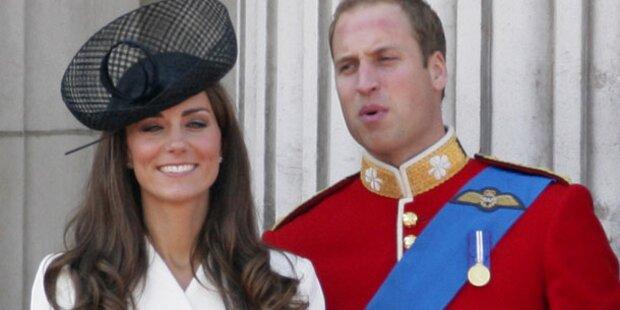 William: Er singt für Kates Baby-Bauch