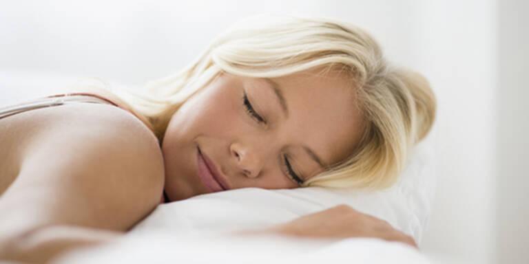 Schlafen Sie Ihre Falten weg