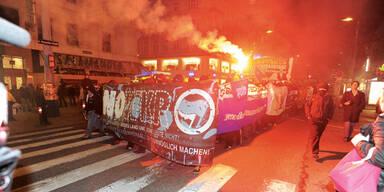 Anarchos drohen mit Straßen-Schlacht