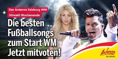 Fußball WM Hymnen