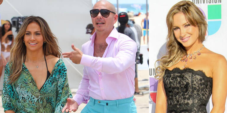 J. Lo, Pitbull und Leitte rocken WM