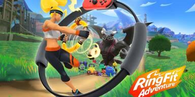 Ringfit Adventure: Sport-Game im Fitness-Check