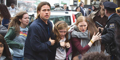 Brad Pitt killt Zombies, Superman hinkt nach