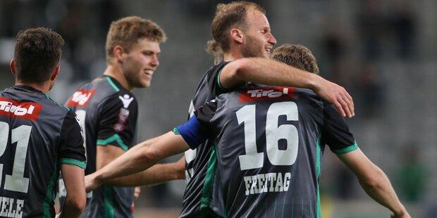Wacker Erste-Liga-Champion & Aufsteiger