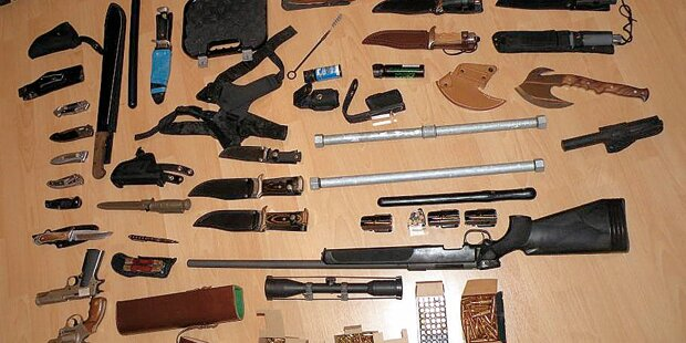 Spritdiebe hatten Waffen in der Wohnung