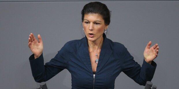 Deutsche Linken-Chefin nennt Luftangriffe