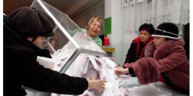 Erdrutsch-Sieg für Präsidentenpartei in Kirgistan