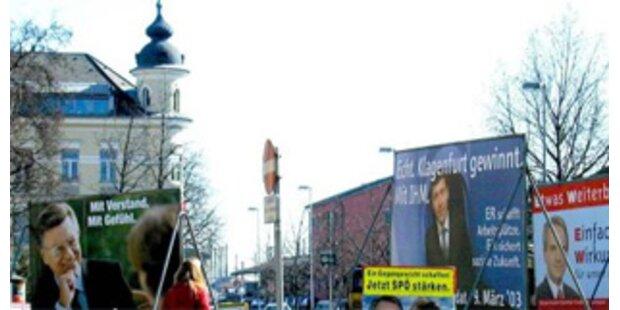 Kärnten-Wahl: Hartes Match um Bürgermeistersessel