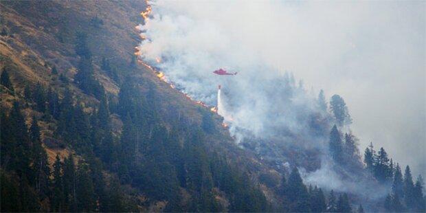 Waldbrandgefahr in Salzburg