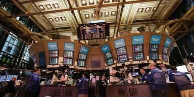 Wall Street schließt klar im Minus