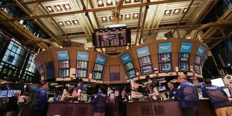 Dow Jones gibt 0,25 Prozent nach