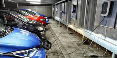 Sechs Wallboxen für Elektroautos im Test