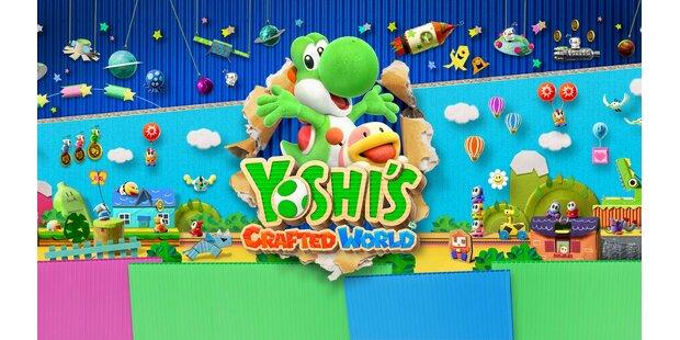 Yoshi's Crafted World: Kunterbunter Hüpfspaß im Test