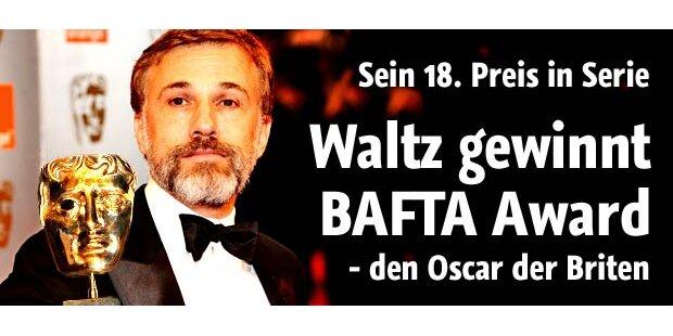 Waltz gewinnt den britischen Oscar