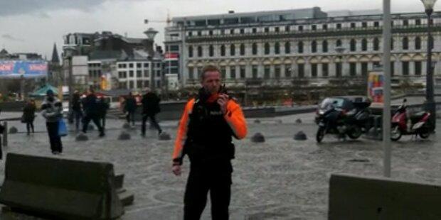 Anschlag mitten in Innenstadt von Lüttich