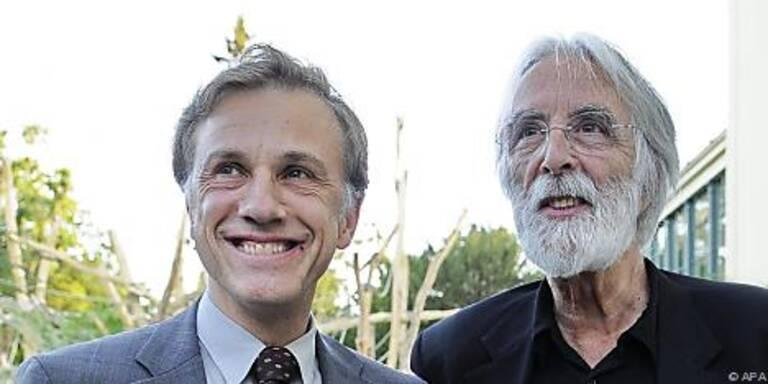 Waltz (l) und Haneke (r) mit berechtigter Hoffnung