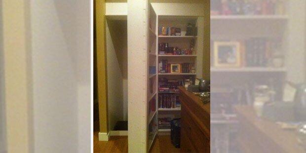 Albtraum: Bub (15) entdeckt Mann in Wand seines Zimmers